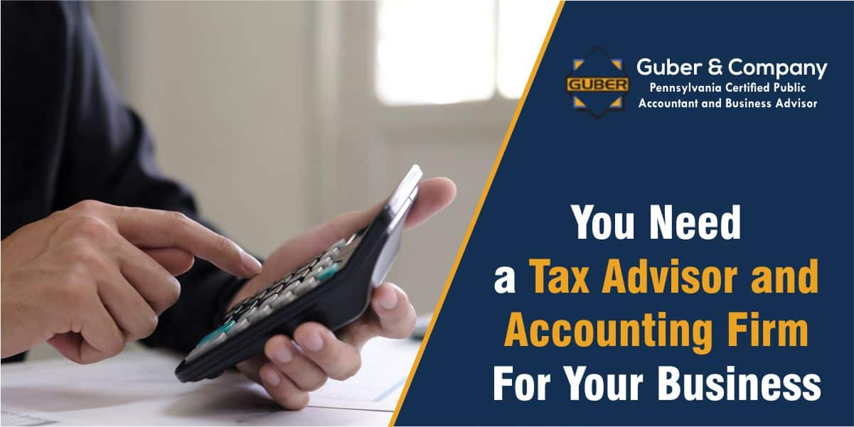 tax advisor for your business